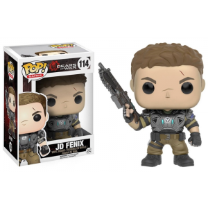 Boneco Funko Pop - Gears Of War - Jd Fenix - 114