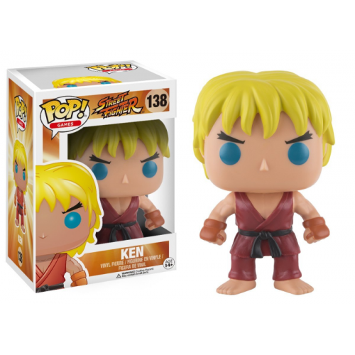 Boneco Funko Pop - Street Fighter- Ken - 138