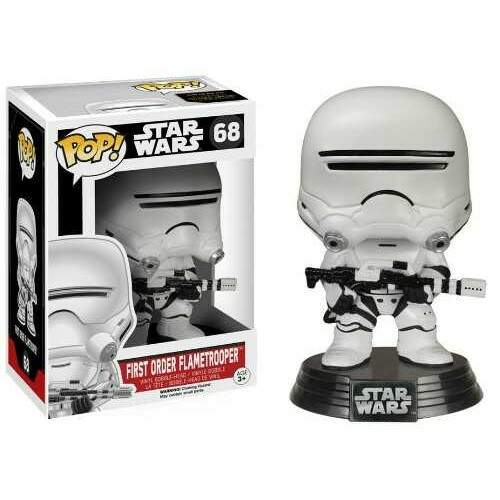 Boneco Funko Pop - Star Wars - First Order Flametrooper - 68