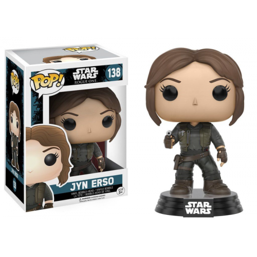 Boneco Funko Pop - Star Wars Rogue One - Jyn Erso - 138