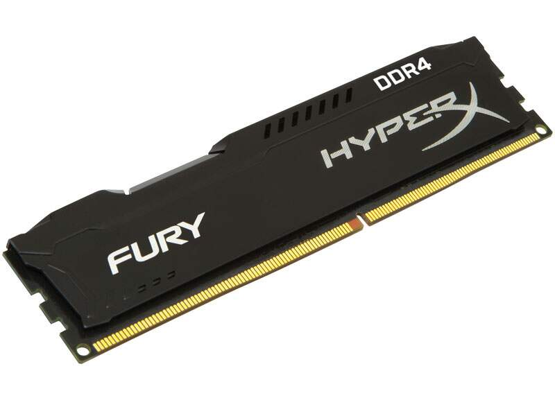 Memória Kingston HyperX FURY 16GB 2400Mhz DDR4 CL15 Black Series HX424C15FB/16