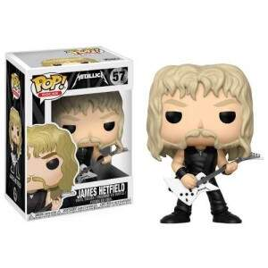 Boneco Funko Pop - Rock - Metalica - James Hetfield - 57