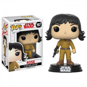 Boneco Funko Pop - Star Wars The Last Jedi - Rose - 197