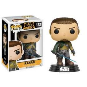 Boneco Funko Pop - Star Wars Rebels - Kanan - 132
