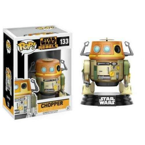 Boneco Funko Pop - Star Wars Rebels - Chopper - 133