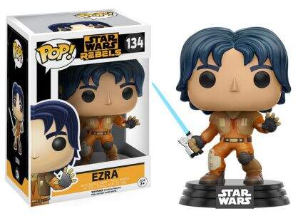 Boneco Funko Pop - Star Wars Rebels - Ezra - 134