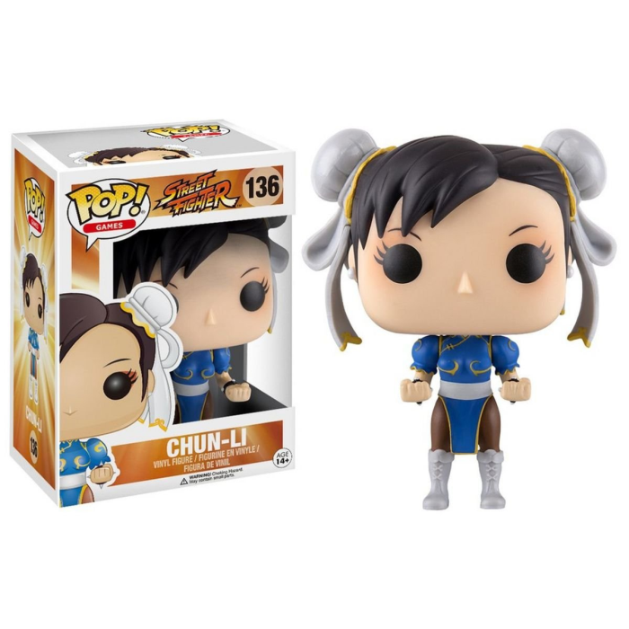 Boneco Funko Pop - Street Fighter - Chun Li - 136