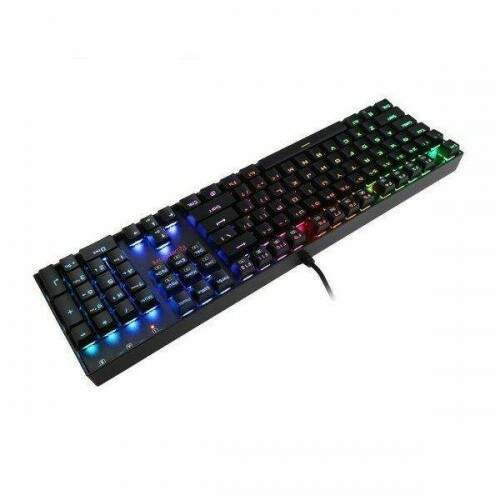 Teclado Gamer Redragon Mecânico Mitra K551 RGB Switch Brown ABNT2