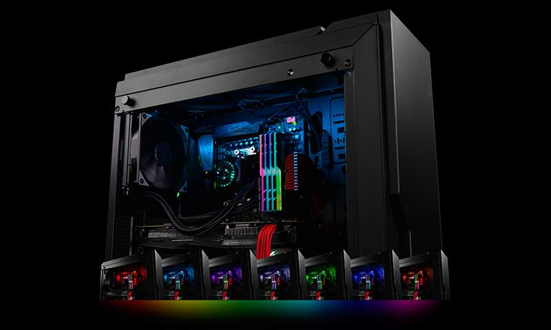 Watercooler Deepcool Captain 240EX RGB c/ Fita Led DP-GS-H12L-CT240RGB