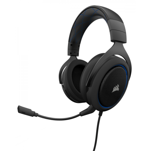 Fone Gamer Corsair HS50 Blue - CA-9011172-NA