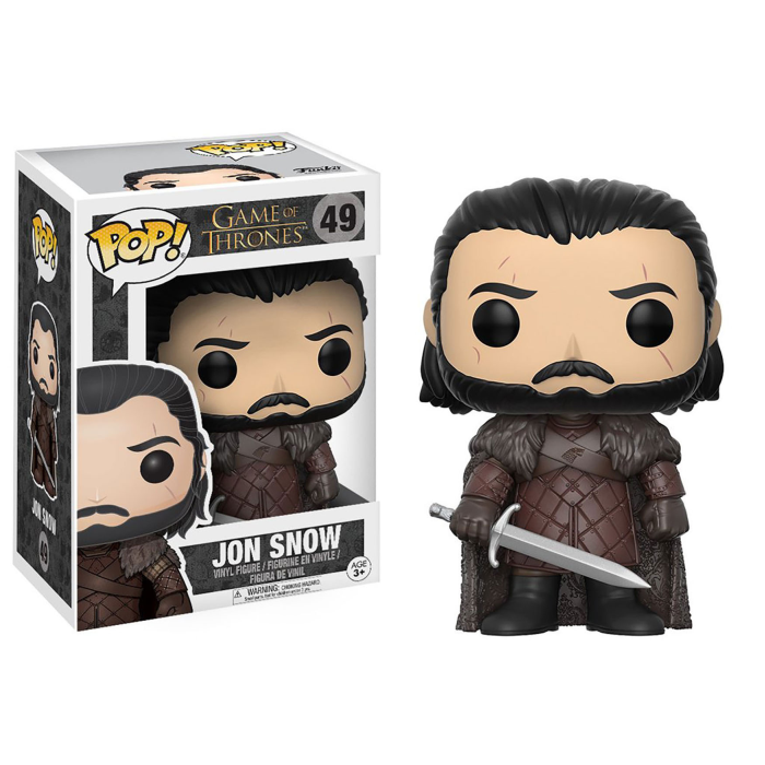 Boneco Funko Pop - Game Of Thrones -  Jon Snow - 49
