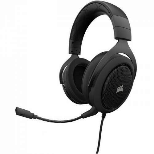 Fone Gamer Corsair HS50 Carbon - CA-9011170-NA