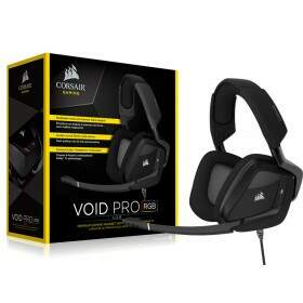Fone Corsair Gaming Void PRO RGB Dolby 7.1 Carbon - CA-9011154-EU