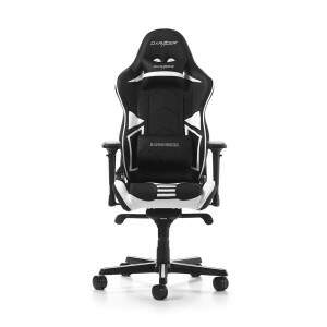 Cadeira DXRACER R-Series Black/White - OH/RV131/NW
