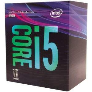 Processador Intel Core i5-8600 Coffee Lake 8a Geração Cache 9MB, 3.1GHz (4.3GHz Max Turbo), LGA 1151 Intel UHD Graphics 630 - BX80684I58600