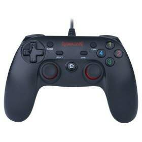 Controle Redragon Saturn Black p/ PC & PS3 - G807