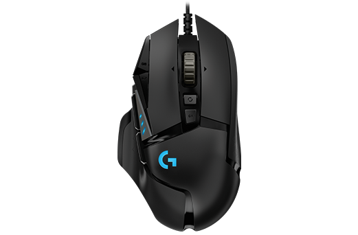 Mouse Logitech G502 Hero RGB Lightsync Gaming 16000dpi - 910-005550