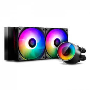 WaterCooler DeepCool Castle 240 RGB V2 Intel/AMD - DP-GS-H12AR-CSL240V2