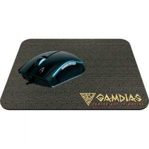 # BLACK NOVEMBER # Kit Mouse Gamer Gamdias Zeus E1A c/ MousePad Nyx E1 3200dpi