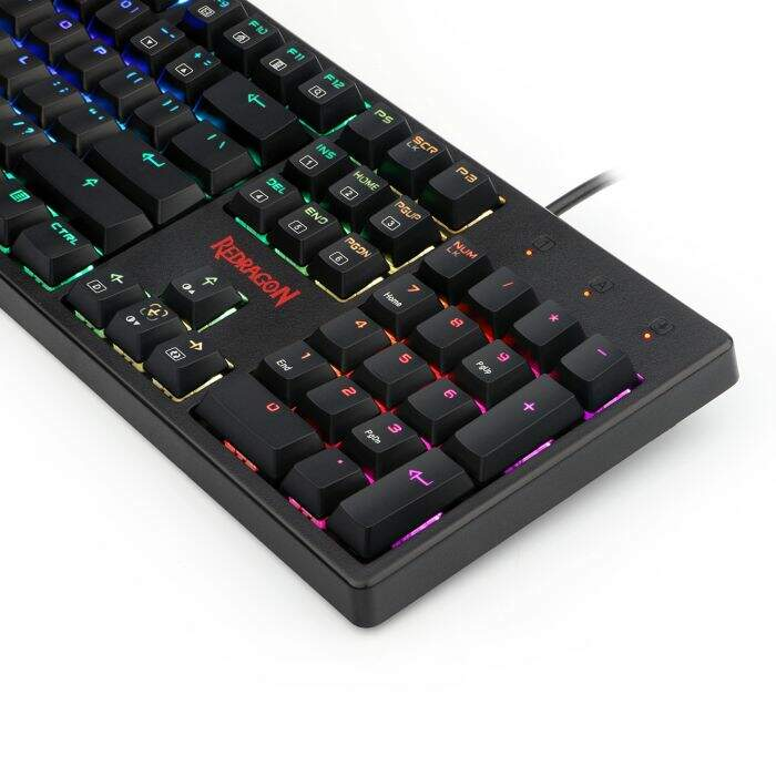 Teclado Gamer Redragon Mecânico KAMA K578 RGB Switch Brown Low Profile