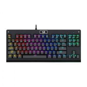 Teclado Gamer Redragon Mecânico DARK AVENGER K568 RGB Switch Blue ABNT2
