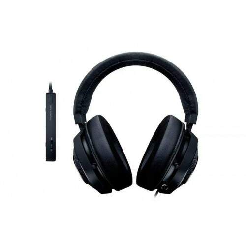 Fone Razer Kraken Tournament Black USB THX Spatial Audio
