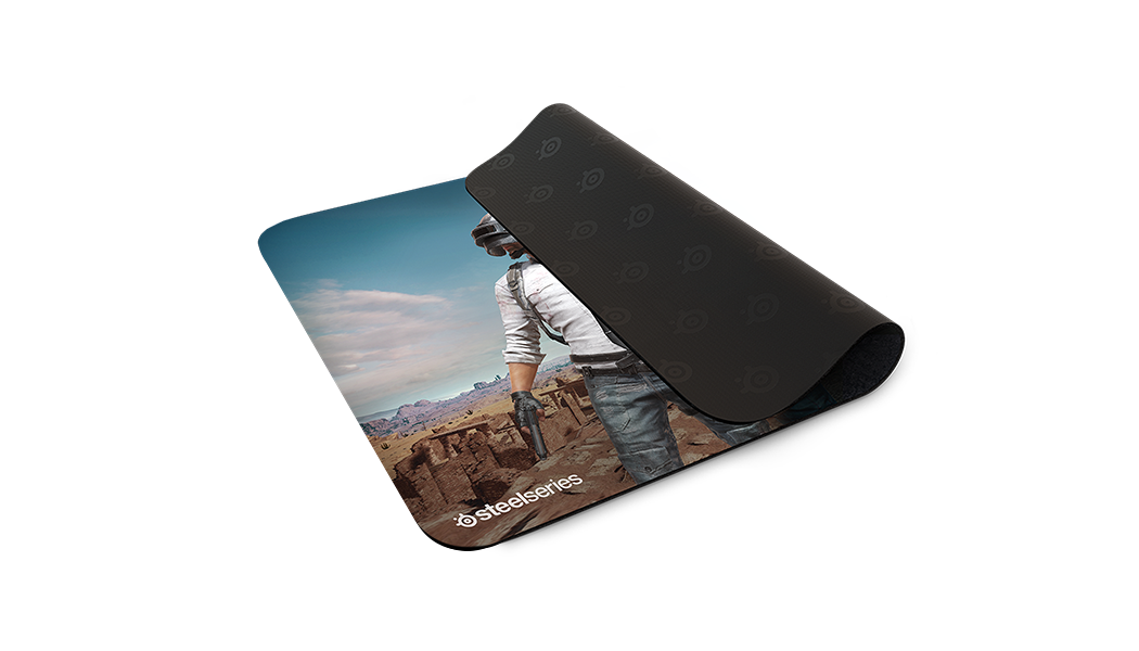# BLACK NOVEMBER # MousePad SteelSeries QcK+ PUBG Miramar Edition
