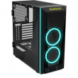 Gabinete Gamer Gamdias Talos M1, Rainbow, Mid Tower, 2 Coolers, Lateral e Frontal em Vidro