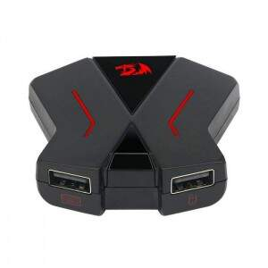 Adaptador Redragon Eris GA-200 p/ Teclado e Mouse em PS4 / XBOX One / Switch