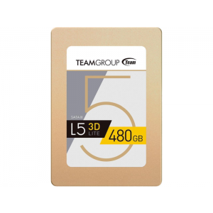 "SSD Team Group L5 LITE 2.5"" 480GB SATA III 2D NAND Internal Solid State Drive - T2535T480G0C101"