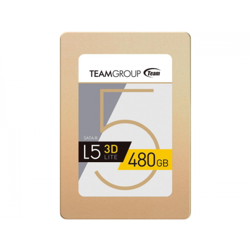 "SSD Team Group L5 LITE 2.5\"" 480GB SATA III 2D NAND Internal Solid State Drive - T2535T480G0C101"