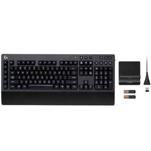 Teclado Mecânico Logitech G613 Wireless Lightspeed e Bluetooth Switch Rommer G - 920-008387