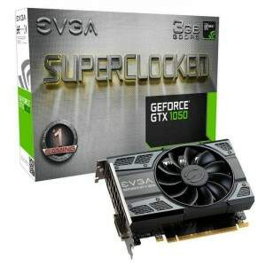 Placa de Vídeo EVGA NVIDIA GeForce GTX 1050 SC Gaming 3GB, GDDR5 - 03G-P4-6153-KR
