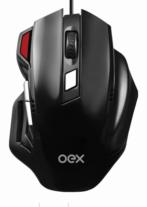 Mouse OEX Gaming Fire MS304 3200dpi Preto