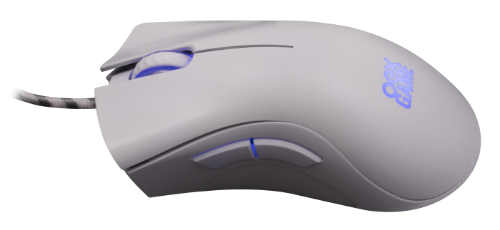 Mouse OEX Gaming Boreal MS319 7200dpi Branco - Pixart 3212