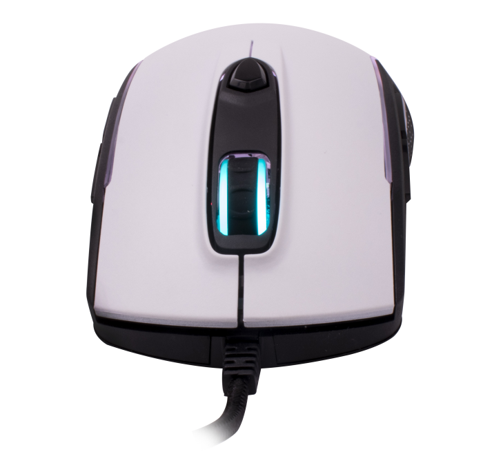 Mouse OEX Gaming Arctic MS316 10.000dpi Branco - Avago 3325