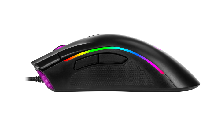 Mouse OEX Gaming Graphic MS313 10.000dpi Preto RGB