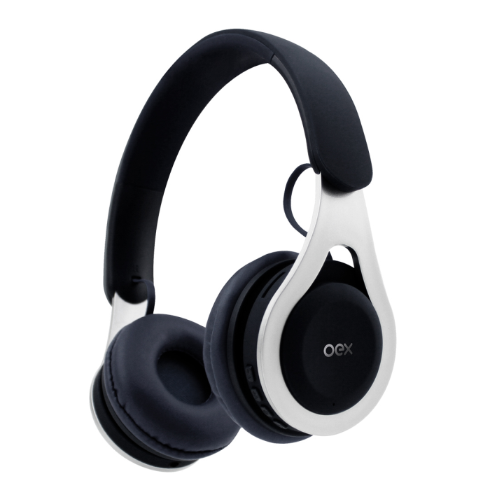 Fone OEX Gaming Drop HS306 Bluetooth c/ Entrada SD e Rádio FM