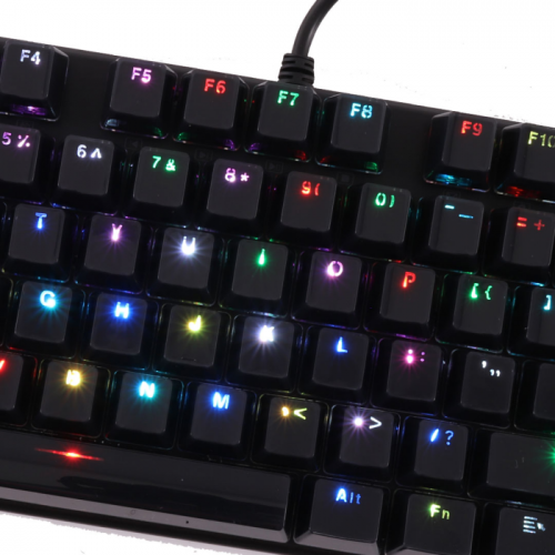 Teclado Mecânico OEX Gaming Phantom TC700 Preto Switch Outemu Blue