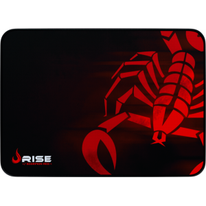 MousePad Rise Gaming Scorpion Red Grande Bordas Costuradas - RG-MP-05-SR