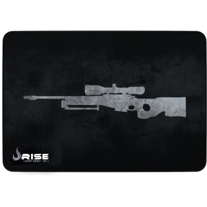 MousePad Rise Gaming Sniper Grey Grande Bordas Costuradas -  RG-MP-05-SNPG
