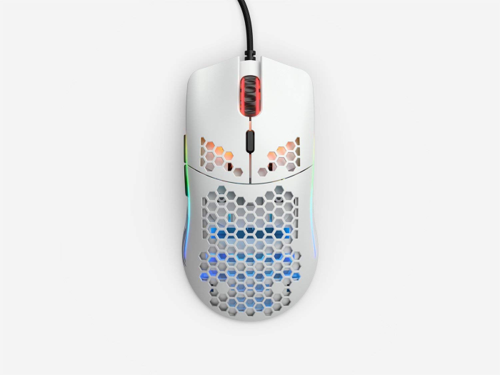 Mouse Glorious Gaming Model O White Matte (Branco Fosco) - GO-WHITE