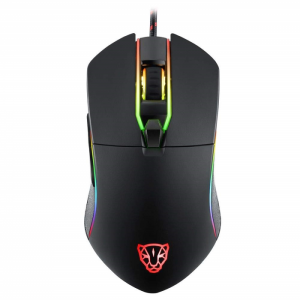 Mouse Gamer Motospeed V30 RGB 5000DPI Preto