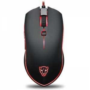 Mouse Gamer Motospeed V40 RGB 4000DPI Preto