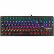 # BLACK NOVEMBER # Teclado Gamer Gamdias Mecânico Hermes E2 Switch Blue c/ Led Rainbow Padrão ABNT2