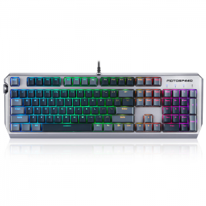Teclado Gamer Opto Mecânico Motospeed CK80 RGB Zeus Switch Optical