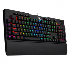 Teclado Gamer Mecânico Redragon Brahma K586 PRO RGB Switch Optical ABNT2