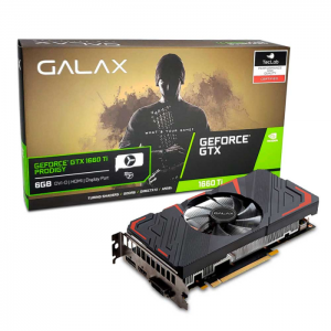 Placa de Vídeo Galax NVIDIA GeForce GTX 1660 Ti Prodigy 6GB, GDDR6 - 60IRL7DS46PY