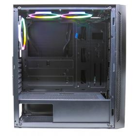 # BLACK NOVEMBER # Gabinete Rise Mode Glass 03 Mid Tower c/ 3 Fans RGB Vidro Temperado - RM-CA-03-RGB