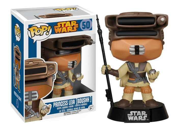 Boneco Funko Pop - Star Wars - Princess Leia [BOUSHH]- 50